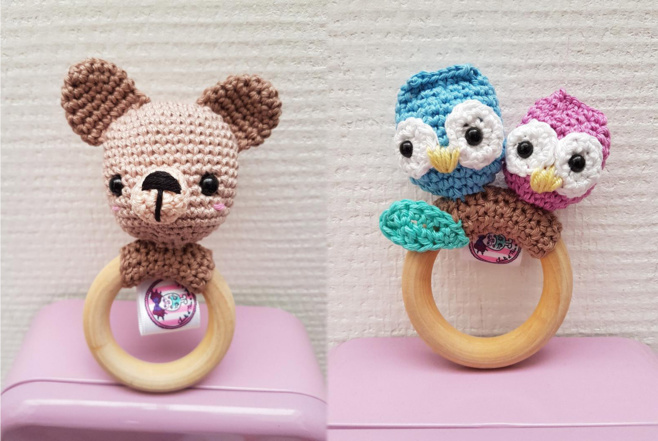Personnalisez doudous et objets pour enfants avec des étiquettes fantaisies !
