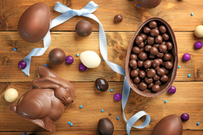 Préparez votre table de Pâques avec des rubans de satin personnalisés