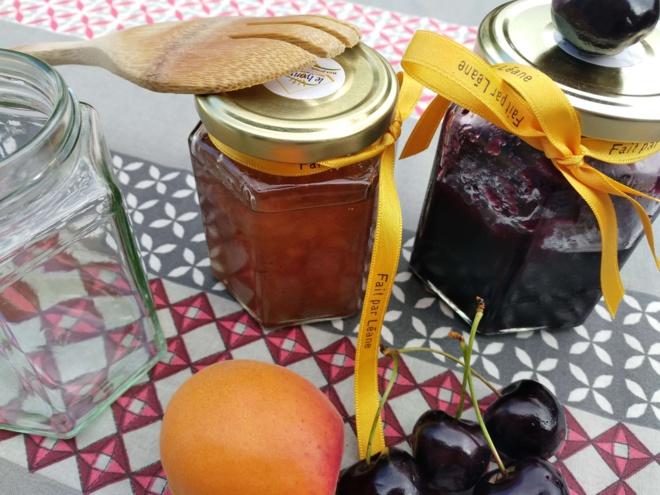 Fruits d'été et confitures : personnalisez vos pots avec des rubans en satin