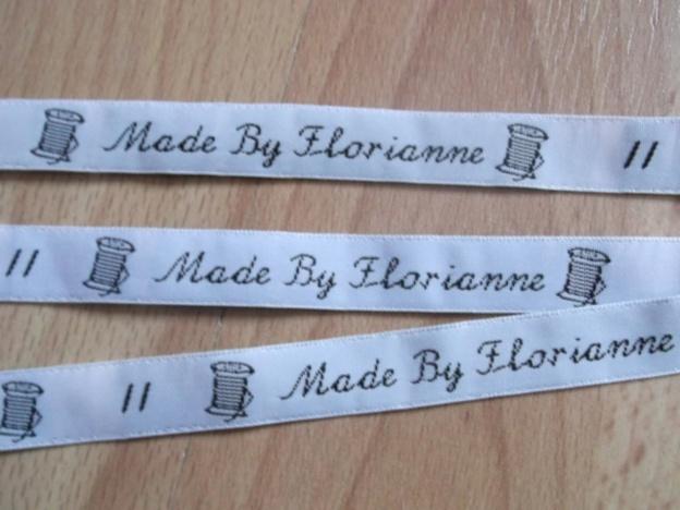 """Nos étiquettes à l'honneur sur le blog """"Florianne coud encore"""""""