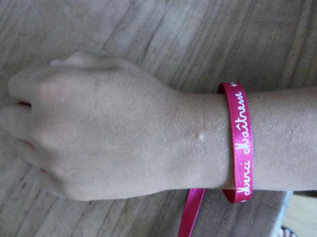 Une utilisation originale de nos bracelets en satin