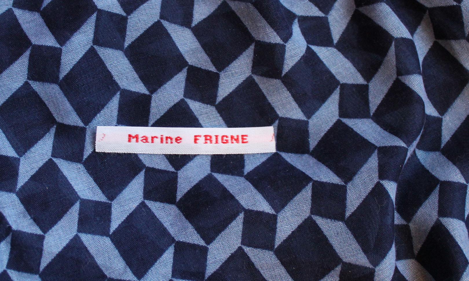 Utilisez des étiquettes prénom pour identifier vos affaires