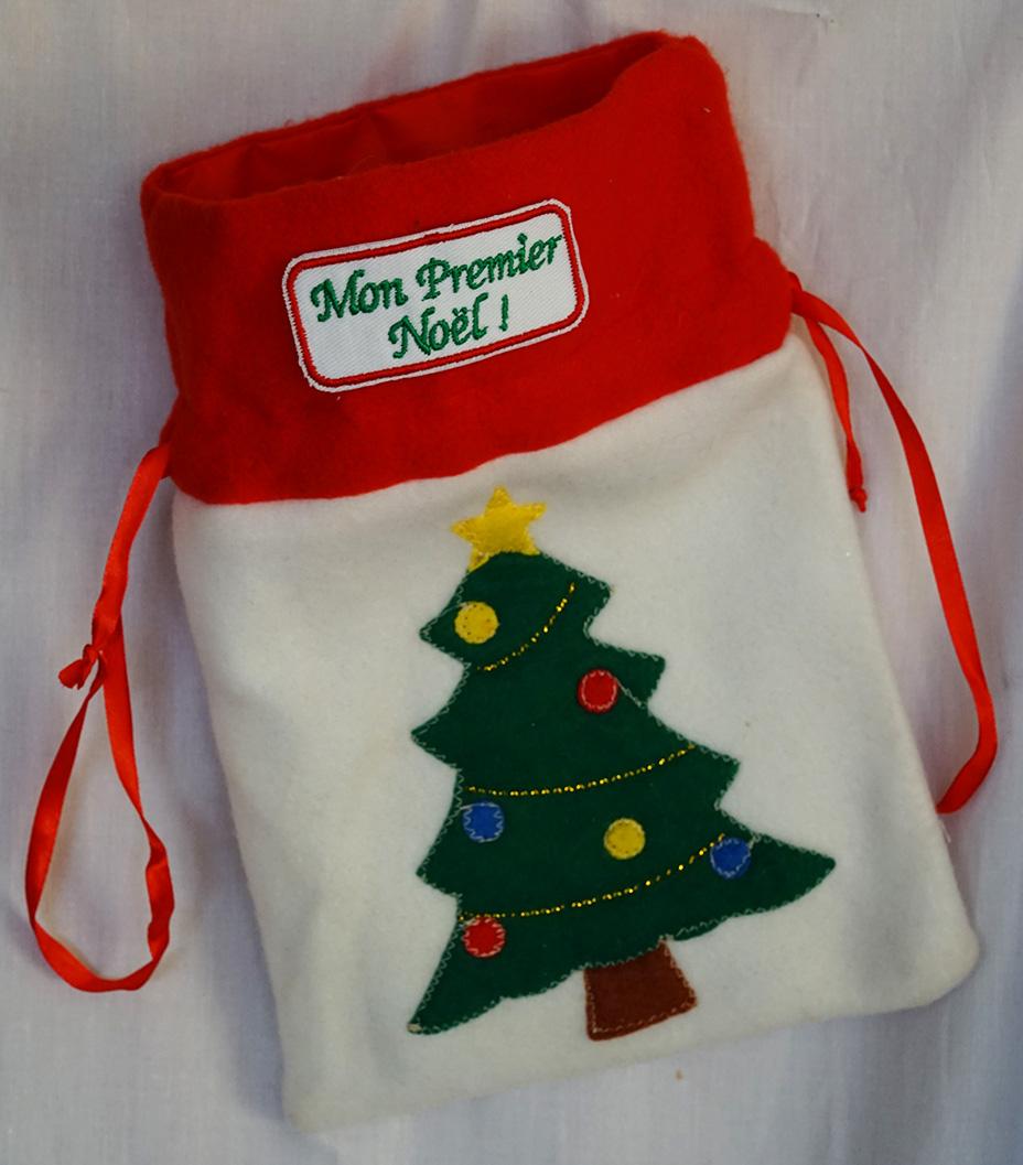 Idée déco de Noël : utilisez des écussons brodés