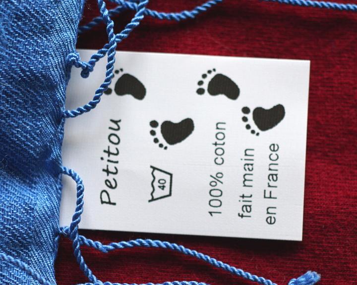 Couturiers : pensez aux étiquettes de composition sur vos vêtements !