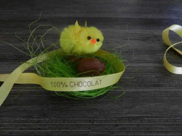 Pour Pâques, personnalisez vos oeufs avec des rubans en satin !