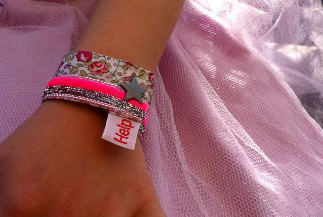 Des bracelets pour ne pas perdre vos enfants !