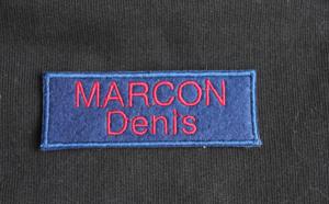 Personnalisez vos tenues de travail avec des badges brodés !