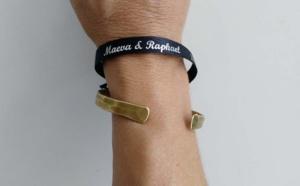 Pensez au bracelet satin pour votre mariage