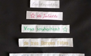 Les étiquettes de Juliette vous souhaitent d'excellentes fêtes de fin d'année