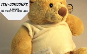 Jeu-concours : remportez 100 étiquettes fantaisies à votre LOGO !