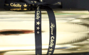 Professionnels : imprimez des rubans en satin personnalisés !