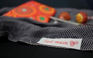 Pour Noël, personnalisez vos cadeaux faits maison avec des étiquettes tissées fantaisie